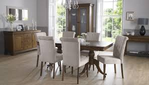French Dining Room Sets by Furniture Upholstered Dining Chairs With Perfect Finishing Touch