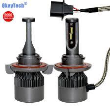 aliexpress buy okeytech 9008 h13 hi lo led car headlight