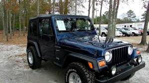 2002 JEEP WRANGLER REVIEW TJ SPORT 4X4 * NEW TIRES * NEW TOP * FOR ...