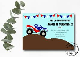 USA Monster Truck Invitation Monster Truck Birthday Mr Vs 3rd Monster Truck Birthday Party Part Ii The Fun And Cake Monster Truck Food Labels Mrruck_party_invitions_mplatesjpg Unique Free Printable Grave Digger Invitations Gallery Marvelous Ideas At In A Box Cool Blue Card Truck Birthday Blaze The Machine Invitation On Design Of Jam Ticket Style Personalized 599 Sophisticated Photo Christmas Card