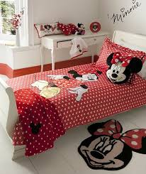 Minnie Mouse Twin Bed In A Bag by Minnie Mouse Bedroom Set Also With A Minnie And Mickey Bedding