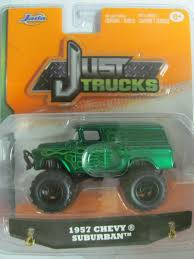 2015 Jada Just Trucks 1:64 Scale 1957 CHEVY SUBURBAN GREEN Wave 6 ...