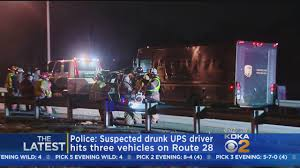 100 Ups Truck Routes UPS Driver Who Caused Route 28 Chain Reaction Crash Found To Be DUI