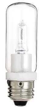 satco s3474 1 card 120v 150 watt t10 medium base light bulb clear