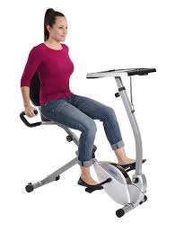 Recumbent Bike Desk Chair by Amazon Com Stamina 2 In 1 Recumbent Exercise Bike Workstation