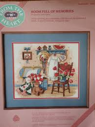 100 Memories By Design ROOM FULL Of MEMORIES By Dimensions From The Heart Collection By Cheryl Jeffrey 14x 12 Framed Wo Mat 1989