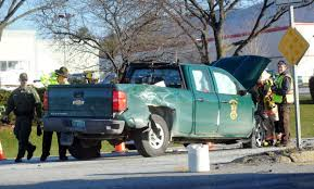 100 Game Warden Truck SUV Crashes Into Game Wardens Truck On US Route 7 News