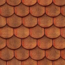 meursault shingles clay roof tile texture seamless 03506