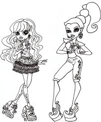 Twyla And Gigi Coloring Sheet