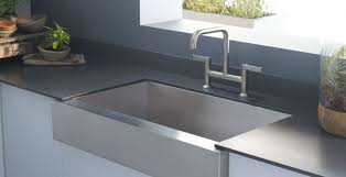 Drop In Bathroom Sink Sizes by Decolav Simply Stainless Dropin Bathroom Sink In Brushed Stainless