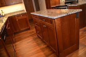 Custom Cherry Kitchen Remodel Traditional