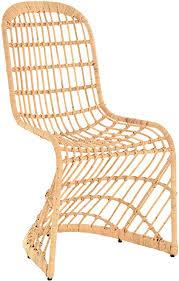 schwingstuhl esszimmer stuhl aus rattan esszimmerstuhl korb schwingstuhl esszimmer stühle schwinger hell natur gestäbt ohne polster