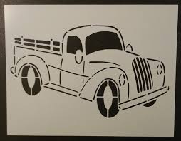 Old Vintage Truck #2 - Stencil – My Custom Stencils 10 Chevrolet Themed Halloween Pumpkin Stencils Via Lafontaineauto M0189 Vintage Truck With Tree Muddaritaville Studio Amazoncom Christmas Red Truck Stencil Paint Your Own Sign Wood Silhouette Cameo Tutorial Oramask 5 Steps To Vintage Hot Rod Door Art By Andys Pstriping Listing Os Blog Archive Pack 1 Only 4995 Firetruck Sp Shopping Chalk Couture