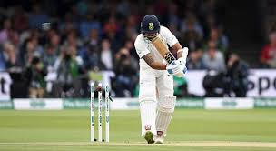 Vijay Was Bowled In The Very First Over Of Test Match