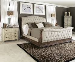American Drew Jessica McClintock Boutique Sleigh Bed In Baroque