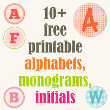 Round Up Of Free Alphabet Printables