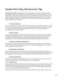 Sample Resume For College Student Looking Part Time Job Best Of