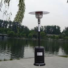 Propane Patio Heat Lamps by Garden Propane Standing Lp Gas Steel Accessories Heater Patio