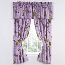 Camo Curtains Realtree AP Lavender Camouflage Curtains Camo Trading
