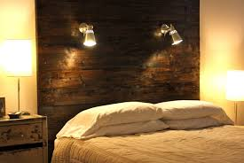 Headboard Lights For Reading by Home Design Diy Headboard With Lights Kitchen Restoration