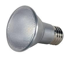 satco s9405 par20 led 2700k 40 beam spread medium base light bulb