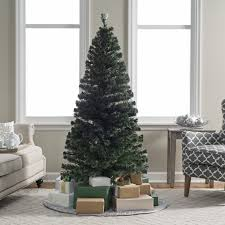 Fiber Optic Christmas Trees On Sale by 6 Ft Fiber Optic Evergreen Pre Lit Led Christmas Tree Hayneedle