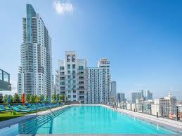 100 Miami Modern MODERN 2 BED WITH OCEAN VIEW AND STUNNING POOL
