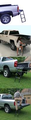 Other Backyard Games 159081: Universal Heavy Truck Tailgate Ladder ... Truck Steps Pickup Livingstep Tailgate Step Youtube 2019 Gmc Sierra 1500 Of The Future 2014 Ford F150 Xlt Review Motor 2015 Demstration Amazoncom Traxion 5100 Ladder Automotive 2018 Limited Tailgate Step Side View At 2017 Dubai Show Westin 103000 Truckpal Gator Innovative Access Solutions Portable Heavy Duty Climb Stair Safety Capsule Supercrew The Truth About Cars