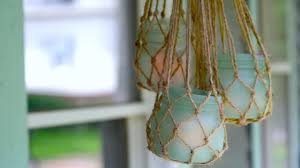 Sea Glass Bathroom Accessories by How To Make A Diy Sea Glass Jar And Lantern Hgtv