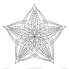 Awesome Collection Of Free Printable Geometric Coloring Pages Adults To Print Also Letter Template