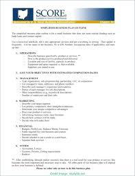 Small Business Association Plan Template Forumdefoot Net