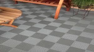 garden winds gray deck tiles box of 10