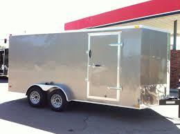100 Arrow Trucking Tulsa Ok 7 X 16 Vnose Lark Enclosed Cargo Trailer Lahoma Hitch It Traile