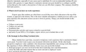 Resume Examples Uc Davis Inspirational Template For College Students O