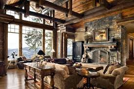 Rustic Living Room Furniture Set Sets Leather