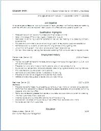 Example Of A Waitress Resume Cafe Waiter Template Sample For Position