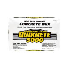 Quikrete Self Leveling Floor Resurfacer by Quikrete 80 Lb High Early Strength Concrete Mix 100700 The Home