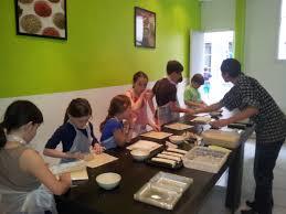 atelier cuisine pour enfant atelier cuisine et cours de sushi sushi4you dans ma tribu