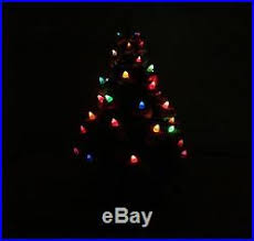 Vintage Atlantic Mold Ceramic Christmas Tree by Atlantic Mold Ceramic Christmas Tree Box Flocked Christmas