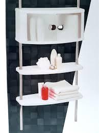details zu badregal teleskopregal bad regal stecksystem alu badschrank ablage ohne bohren