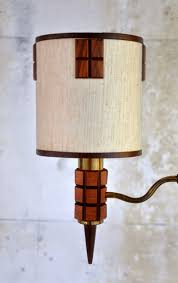 Tension Pole Lamp Shades by Select Modern Mid Century Tension Pole Lamp