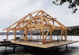 100 Lake Boat House Designs Timber Frame Design Pretty