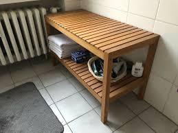 badezimmer schrank bank ikea