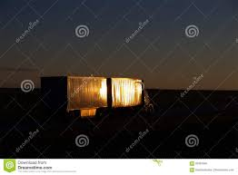 100 Gi Trucking Estes LTL Sunset Stock Photo Image Of Natural Delivery 92991846