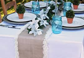 Nautical Table Runners Used Burlap Table Runners For Sale Burlap