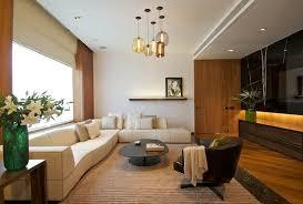 glass pendants lighting ideas for contemporary living room decor
