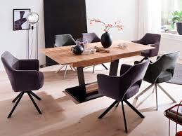 mca furniture vierfußstuhl tavira 2er set mit armlehne