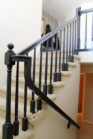 The Banister Is Painted! - Chris Loves Julia Chic On A Shoestring Decorating How To Stain Stair Railings And Best 25 Refinish Staircase Ideas Pinterest Stairs Wrought Iron Stair Railing Iron Stpaint An Oak Banister The Shortcut Methodno Howtos Diy Rail Refishing Youtube Photo Gallery Cabinets Boise My Refinished Staircase A Nesters Nest Painted Railings By Chameleon Pating Slc Ut Railing Concept Ideas 16834 Of Barrier Basic Gate About