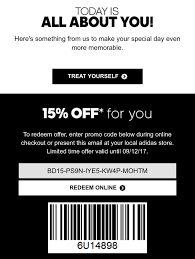 Here's My Birthday Coupon From Adidas. Only 2 Days Left And I Don't ... Adidas Malaysia Promotional Code 2019 Shopcoupons Jabong Offers Coupons Flat Rs1001 Off Aug 2021 Coupon Codes Need An Discount Code How To Get One When Google Fails You Amazon Adidas 15 008bb F2bac Promo Reability Study Which Is The Best Site Nike Soccer Coupons Nba Com Store Scerloco Gw Bookstore Coupon Glitch16 Hashtag On Twitter Womens Fashion Vouchers And Promo Code For Roblox Manchester United 201718 Home Shirt Red Canada