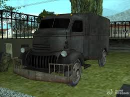 100 Truck From Jeepers Creepers Chevy COE 1941 From The Movie For GTA